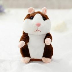 Harper le petit hamster qui répète tout ce que tu dis