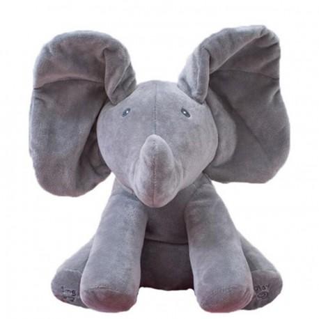 Joey l'éléphant qui bouge ses oreilles