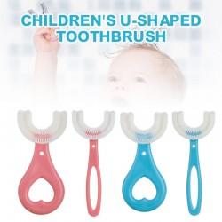 Brosse a dents en silicone souple en forme de U