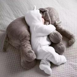 Grande peluche éléphant tout doux pour bébé